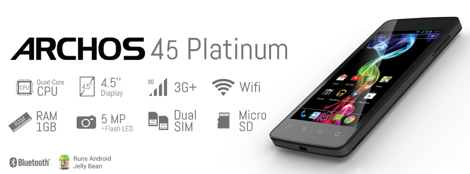 archos 45platinum intro